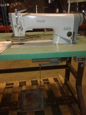 Pfaff Sewing Machine 563g Industrial Sewing Machine