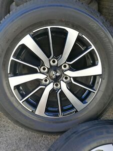 "5X Mitsubishi Pajero triton genuine 18"" wheels & tyres brand new Chester Hill Bankstown Area Preview"