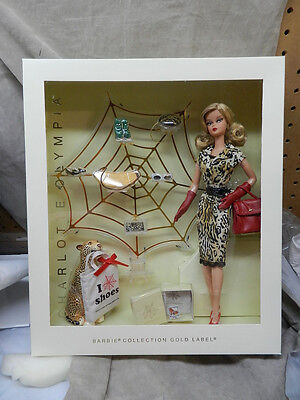 2016 Charlotte Olympia Gold Label Barbie Doll, NRFB  NOT MINT BOX