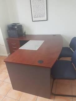 Office Desk Return In Queensland