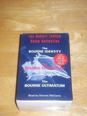 The Robert Ludlum  Value Collection Bourne Triology (Audiobook 1990) Used
