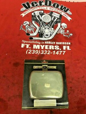 - HARLEY DAVIDSON STYLE CHROME COIL COVER - FITS ALL DYNA GLIDE MODELS 1991 AND UP