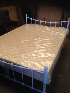 BNIB Classic white metal double, queen bed frame-CLOSING DOWN ikea Chatswood Willoughby Area Preview