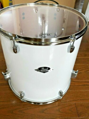 "NEW Pearl Export Series 16"" White Maple Bass Floor Tom Drum"
