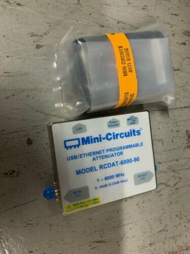 MiniCircuits USB/Ethernet Programmable Attenuator Model RCDAT -6000-90