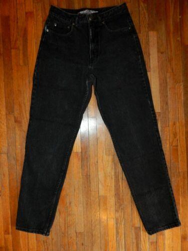 Vintage Z. Cavaricci Black Denim Jeans High Waist 100% Cotton Women