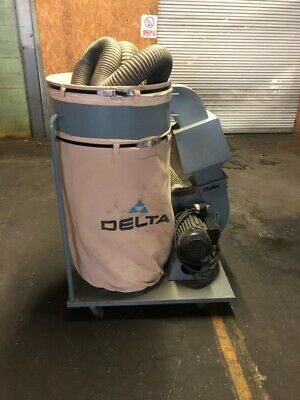 DELTA 50-851 2HP 1PHASE 220V DUST COLLECTOR (W2) 1 Phase Dust Collector