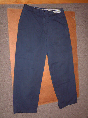 Aramark Work Pants  33 Waist  27 Inseam  Navy Blue