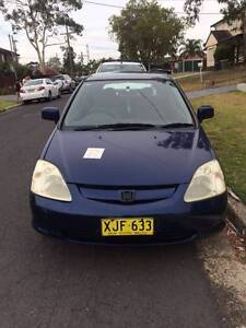 2001 Honda Civic Hatchback Revesby Heights Bankstown Area Preview