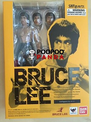 Bandai S.H. Figuarts Bruce Lee Action Figure IN STOCK USA