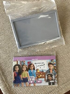 American Girl Luciana Nasa Space Monitor Tv Screen New From Mission To Mars Set