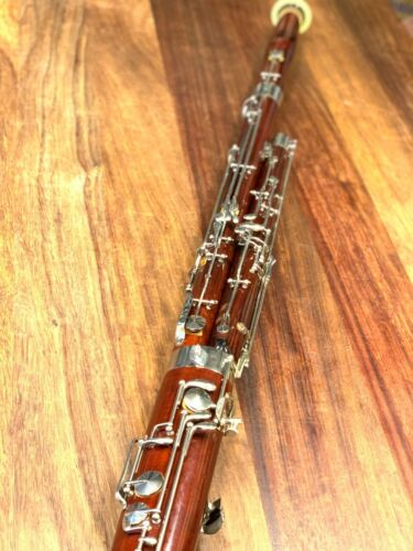 Pre Owned SCHREIBER (CONN) BASSOON - Repadded PERFECT - Ships FREE WORLDWIDE