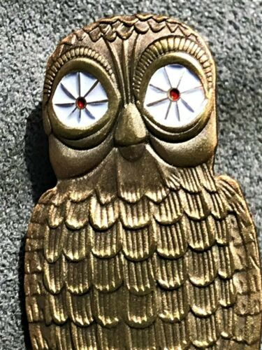 Clash of the Titans BUBO the OWL figure pin release kraken greek myth mythology