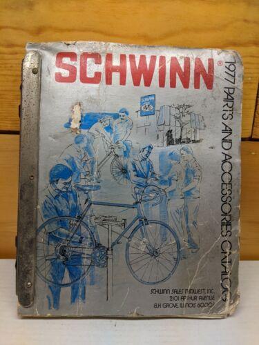 Vintage 1977 Schwinn sales parts accessories book catalog