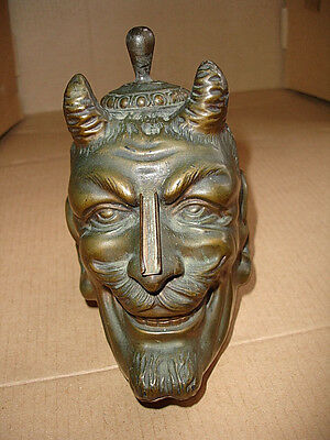 "~ 1938 ~   RONSON   DEVIL   HEAD   Striker  Lighter   "" VERY RARE """
