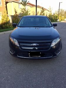 2012 Black Ford Fusion Sport For Sale Low KM!