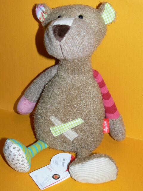 Sigikid - Bär Patchwork Sweety - ca. 40 cm - Nr. 38367 - Neu -