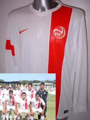 TAHITI Nike L/S Shirt Jersey Soccer Adult XL Trikot  Maglia BNWT World Cup Rare image