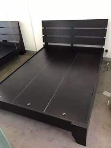 Flat Base Wood Bed Frame Double/Queen/King Clayton Monash Area Preview