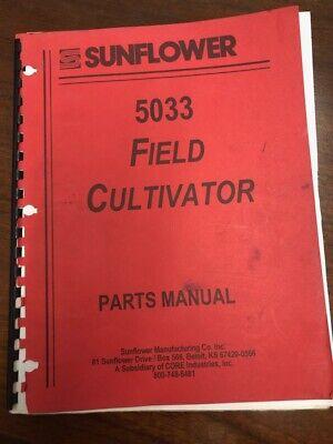 Sunflower 5033 Field Cultivator Parts Manual