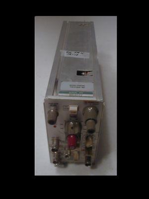 Tektronix Am-502 Differential Amplifier Pi For Tm-500 Framechecked Ok