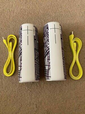 2-Pack Logitech UE BOOM 2 Ultimate Ears Wireless Bluetooth Speaker