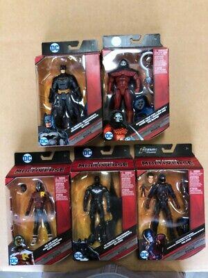 "DC Comics Multiverse 6"" BAF Rookie Set of 5 Figures"