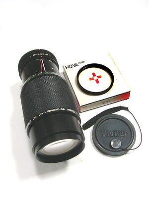 Объективы Great-Looking VIVITAR MC 80-200mm f/4.5