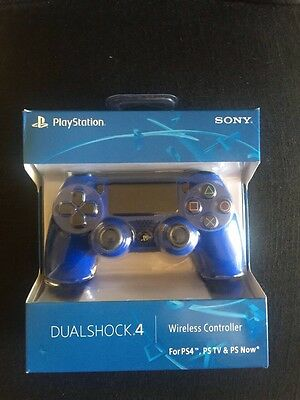 New DualShock 4 Wireless Controller for PlayStation 4 - Blue Color