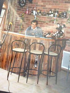 Antique 100 year-wooden bar Seddon Maribyrnong Area Preview