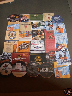 "BEER BAR COASTER  NFL LOT OF 30  ""MAN CAVE STUFF"" THE GAME ROOM STORE, NJ 07004"