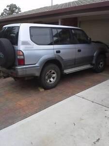 90series Toyota LandCruiser Prado Wagon Burton Salisbury Area Preview