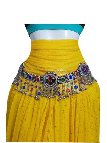 Afghan Kuchi fusion Belly-dance Belt , Hip scarf Waist jewelry Kuchi Belt