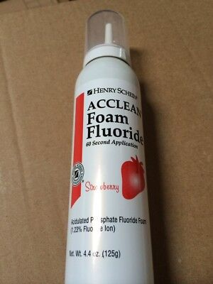 Dental Apf Fluoride Foam 1.23 4.4oz 60 Second Application Made In Usa