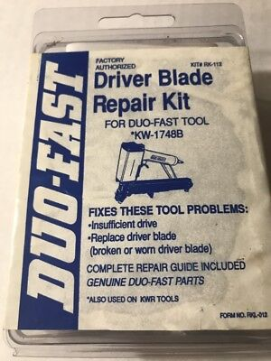 Duo-Fast RK-112 Driver Blade Repair Kit for Duo-Fast KW-1748B. Also Used On KWR ()
