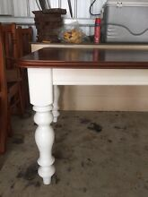 Shabby chic dining table Enfield Golden Plains Preview