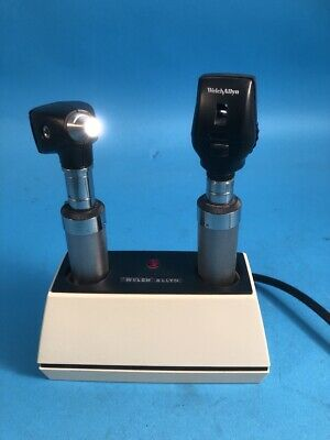 Welch Allyn 71110 Portable Rechargeable Otoophthalmoscope Set
