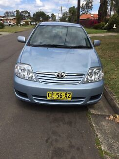 2006 Toyota Corolla Sedan Blacktown Blacktown Area Preview