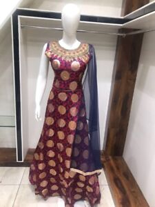 Indian ladies party clothing and alterations sarara gowns lehnga