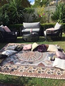 Party Hire   Boho Picnic Tables, Cushions And Plenty More Part 95