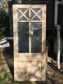 Vintage church doors & Logan Shaving Cabinet - 900 x 750mm 2 glass mirror doors door ...