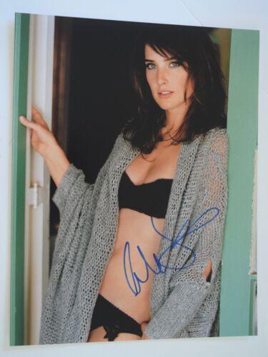 Cobie Smulders Signed Autograph 11X14 Photo Captain America MAXIM Sexy COA VD