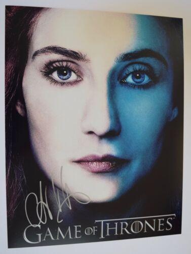Carice Van Houten Signed Autographed 11x14 Photo GAME OF THRONES COA VD