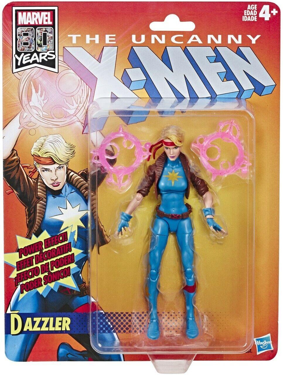 "Marvel Legends X-Men Retro DAZZLER 6"" Figure Marvel 80 Years Brand New"
