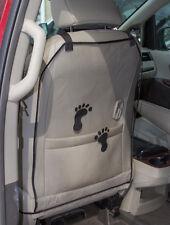 Car Seat Protector Kick Mats - 2 PACK - Protects Car Seats from Muddy Footprints