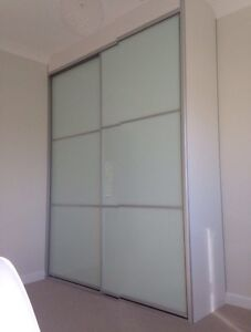 Complete Built-In Wardrobe up to 2400mm frosted panel doors **Ful