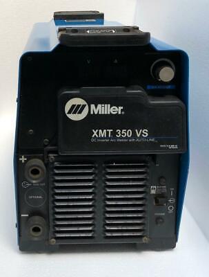 Miller Xmt 350 Vs Dc Inverter Arc Welder With Auto-line 208-575v For Parts 2