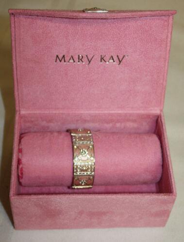 Mary Kay Pink Bracelet Ebmellished Jewelery Box NEW
