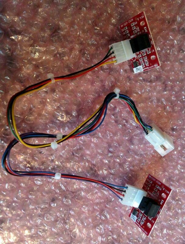 Happ Trackball  Sensors (2) A052-1011-00 Red Board W/Harness