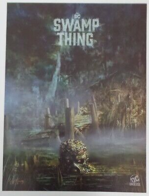 SDCC Comic Con 2019 DC Universe Swamp Thing poster